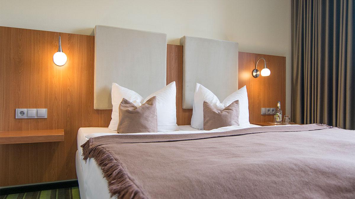 Hotelbett in Hilpoltstein